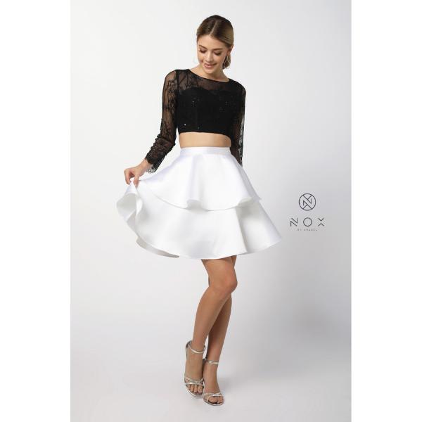 Nox 6290 White & Black